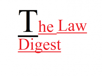 Indian Law , Legal Services, Law Digest, TheLawDigest